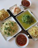 азиатская еда Стоковая Фотография