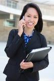 азиатская женщина дела Стоковые Изображения RF