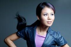 азиатская женщина красотки Стоковые Фотографии RF