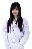 Азиатская женщина доктора медицины Стоковая Фотография RF