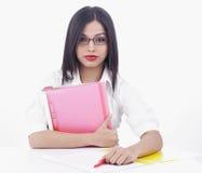 азиатская женщина офиса Стоковые Изображения