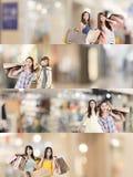 азиатская женщина покупкы стоковая фотография rf