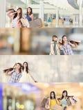 азиатская женщина покупкы стоковые фотографии rf
