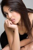 азиатская женщина портрета Стоковые Изображения RF
