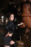 азиатская женщина фабрики Стоковые Изображения