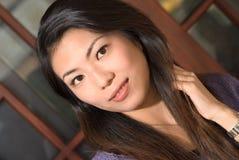 азиатская женщина стоковые изображения