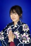 азиатская женщина стоковое изображение