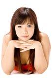 азиатская женщина Стоковое Фото