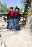азиатская женщина yao Лаоса стоковые изображения