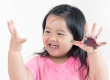 Азиатская картина ребенка Стоковые Фотографии RF