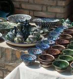 азиатская керамика стоковая фотография rf