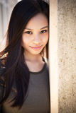 азиатская красивейшая девушка стоковые фотографии rf
