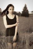 азиатская красивейшая девушка стоковое фото