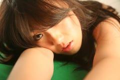 азиатская красивейшая женщина Стоковые Изображения