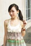 азиатская красотка Стоковое Фото