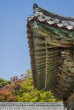 азиатская крыша детали Стоковая Фотография RF