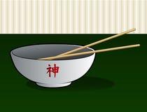 азиатская лапша шара Стоковое Изображение RF