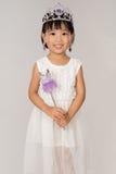 Азиатская маленькая китайская девушка в принцессе Костюмировать Стоковое Изображение