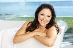 азиатская модель ванны Стоковые Изображения RF