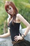 Азиатская модель Стоковая Фотография