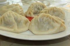 Азиатская национальная еда Стоковая Фотография RF
