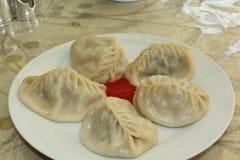 Азиатская национальная еда Стоковое Изображение RF