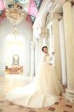 Азиатская невеста Стоковая Фотография