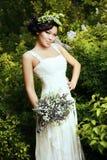 Азиатская невеста Стоковое фото RF