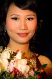 Азиатская невеста стоковые фотографии rf