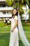 Азиатская невеста Стоковые Изображения
