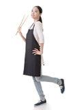 Азиатская домохозяйка Стоковые Изображения RF