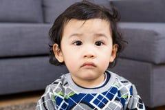 Азиатская осадка чувства младенца Стоковые Изображения