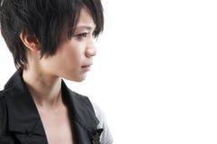 Азиатская панковская девушка стоковое фото rf