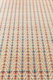 Азиатская пестротканая плетеная текстура картины Стоковые Фото