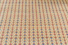 Азиатская пестротканая плетеная текстура картины Стоковые Фотографии RF