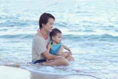 Азиатская потеха семьи Стоковое Фото