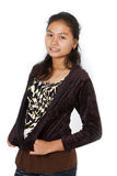 Азиатская предназначенная для подростков девушка Стоковые Фотографии RF