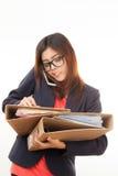 Азиатская работница Стоковое Фото