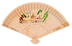 азиатская рука вентилятора Стоковые Фото