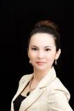 азиатская секретарша портрета Стоковое фото RF