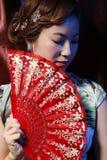 Азиатская симпатичная девушка Стоковые Изображения