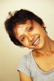 азиатская симпатичная женщина Стоковое фото RF