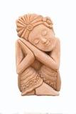 азиатская скульптура повелительницы Стоковые Изображения RF