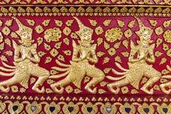 Азиатская скульптура ангела Стоковое Изображение RF