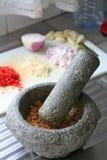 азиатская ступка Стоковое Изображение RF