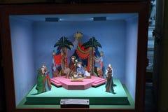 Азиатская сцена рождества стоковое изображение
