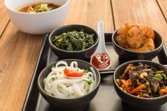 Азиатская тарелка с супом Стоковое фото RF