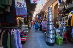 Азиатская торговая операция хранит аркада Стоковые Изображения