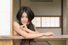 Азиатская усмешка Стоковые Изображения RF