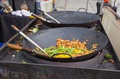 азиатская улица еды Стоковое фото RF